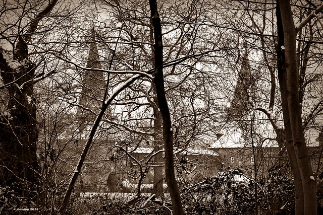 II Winterblick auf Schloss Haag
