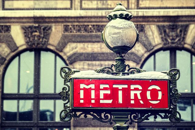 Metro Boulot Snow!