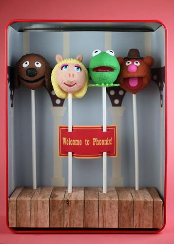 Muppet Cake Pop Ornaments | by Bakerella