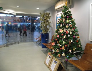 Tree of Life in mobility lounge in Euston Station