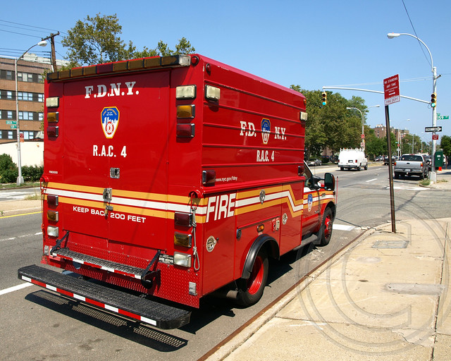 SOC FDNY RAC Unit 4 Truck, Queens, New York City