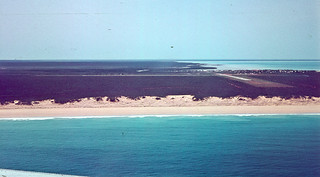 Broome Airport from a MMA DC-3 - 1963