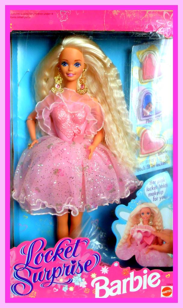 Locket Surprise Barbie 1993 | COLECCION DE BARBIE | Flickr