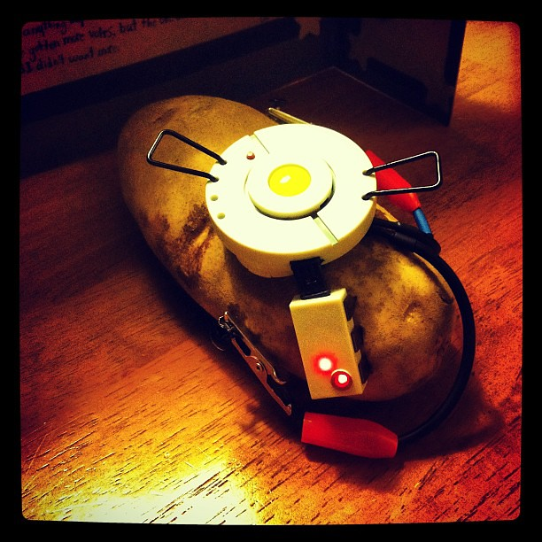 Sid S Real Life Glados Potato Kit If You Haven T Played T