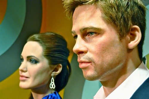 Madame Tussauds: Brad Pitt and Angelina Jolie | by Kevin Burkett