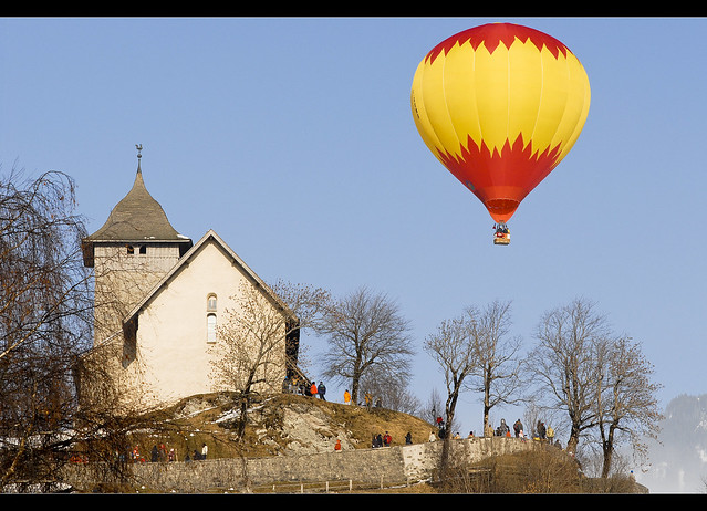 Switzerland. Château- d'Oex . Festival de ballons 2009. No 435.