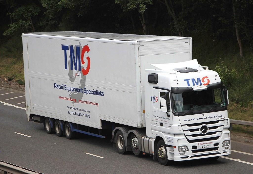 MB Actros - TMS UK LTD Blantyre Glasgow | SG12 UVH..........… | Flickr