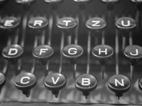 typewriter | by tobiasbegemann