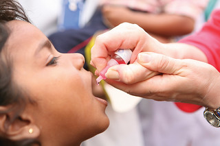 POLIO IMMUNIZATION IN LUCKNOW | by RIBI Image Library