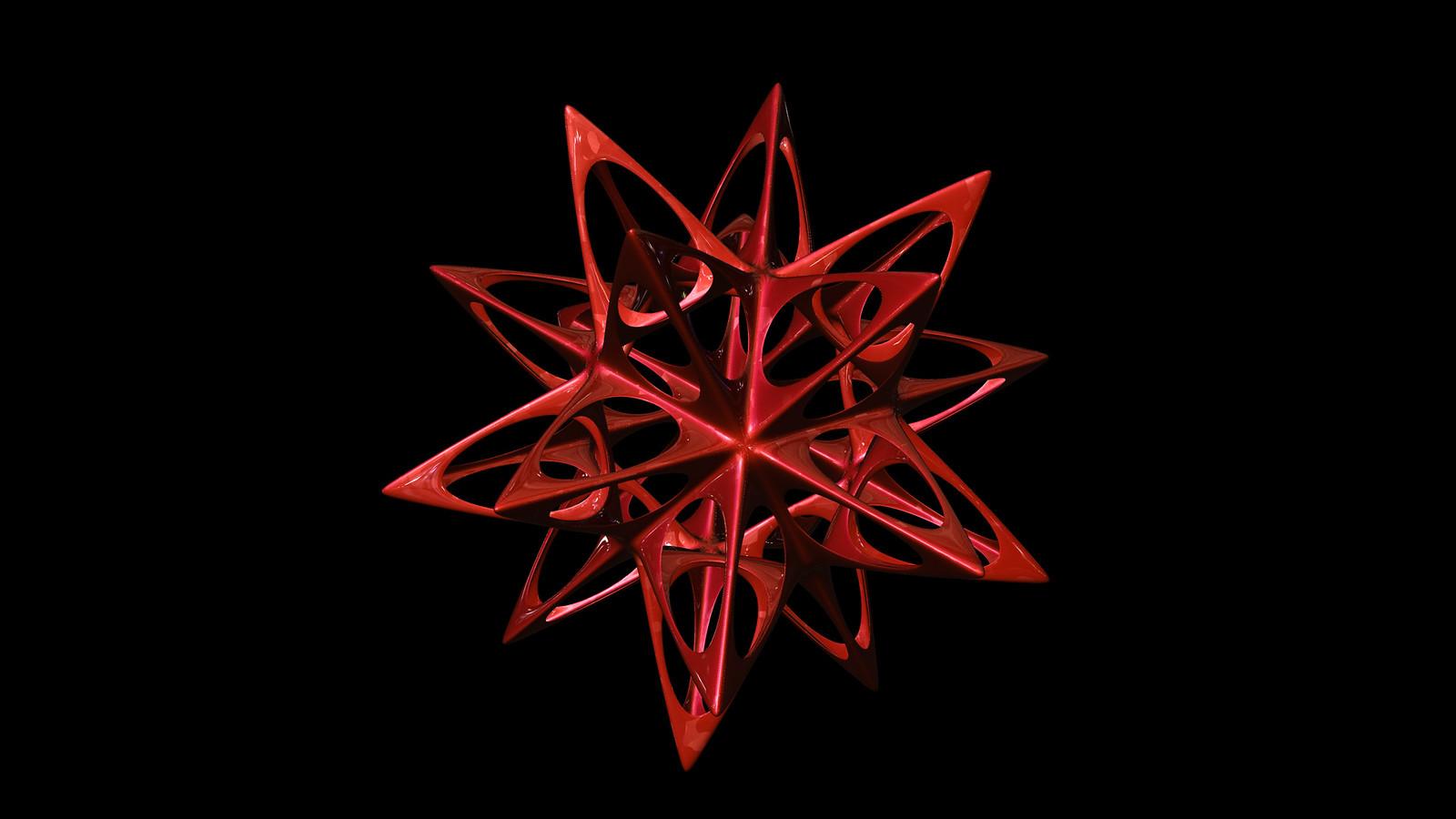 icosahedron spiky soft
