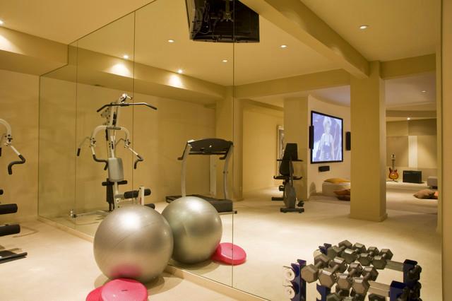 Modern home gym & fitness studio design my home decor flickr