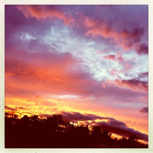 buttonbaystatepark lakechamplain vt sunset sky colorful hipstamatic