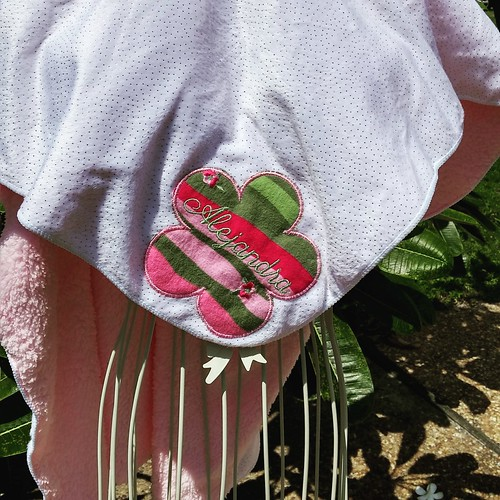 Upcycled Minky Personalized Baby Blanket | by Stitchcottage