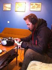 Muziek luisteren in Reykjavik