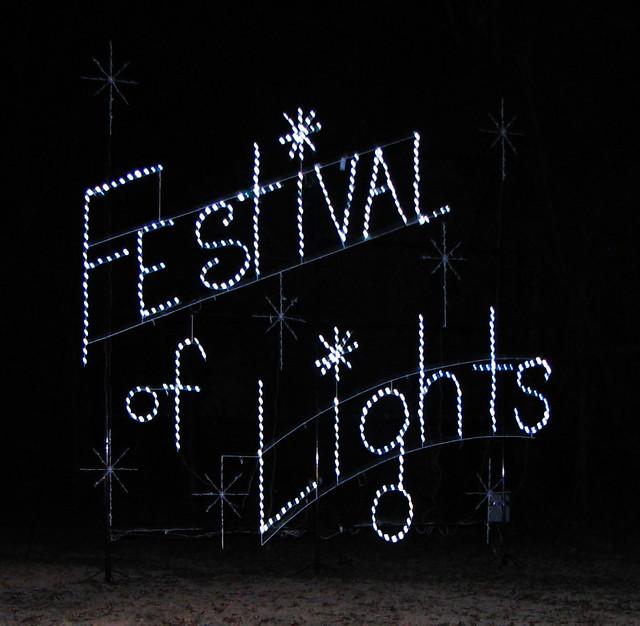 Bull Run Festival of Lights 2012 - Centreville, Virginia
