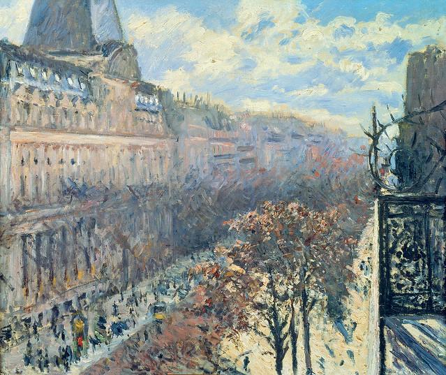 Caillebotte - Boulevard des Italiens [1880]