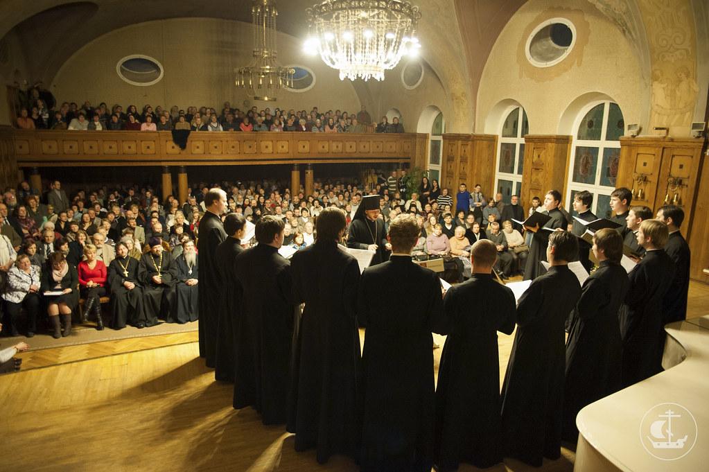 28 декабря 2012, Концерт мужского хора СПбПДА в Клайпеде