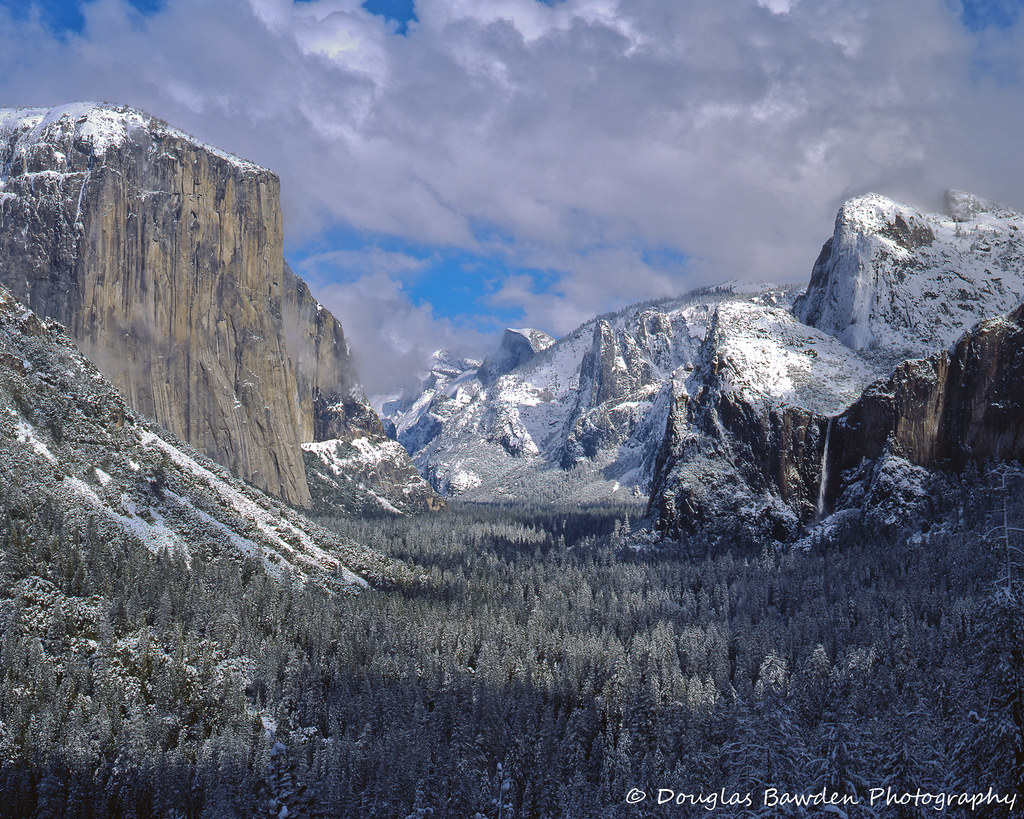 Yosemite Winter Storm - Tunnel View No.9