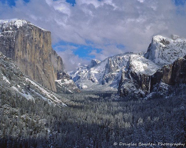 Yosemite Winter Storm - Tunnel View No.9
