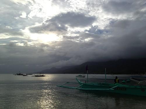 travel sunset sea beach philippines batangas laiya laiyabeach