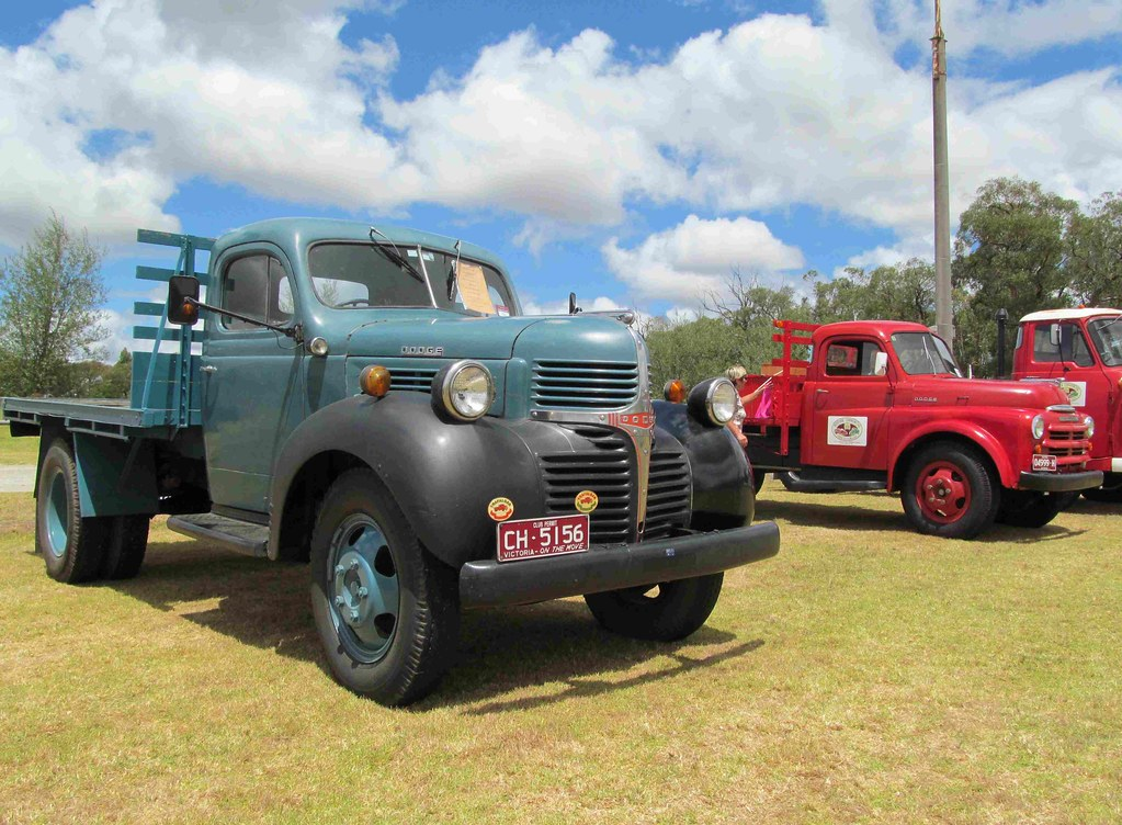 Old Dodge Trucks >> Old Dodge Trucks A Nice 1947 Two And A Half Tonner And My Flickr