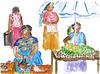 Ženy na trhu, foto: Kateřina Karásková
