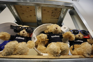Facebook teddy bears | by Robert Scoble