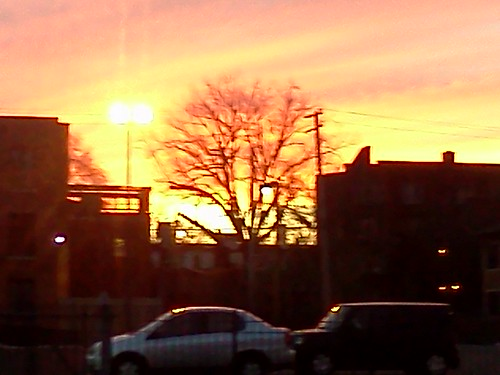 Cass Corridor at sunset | by detroitideafactory