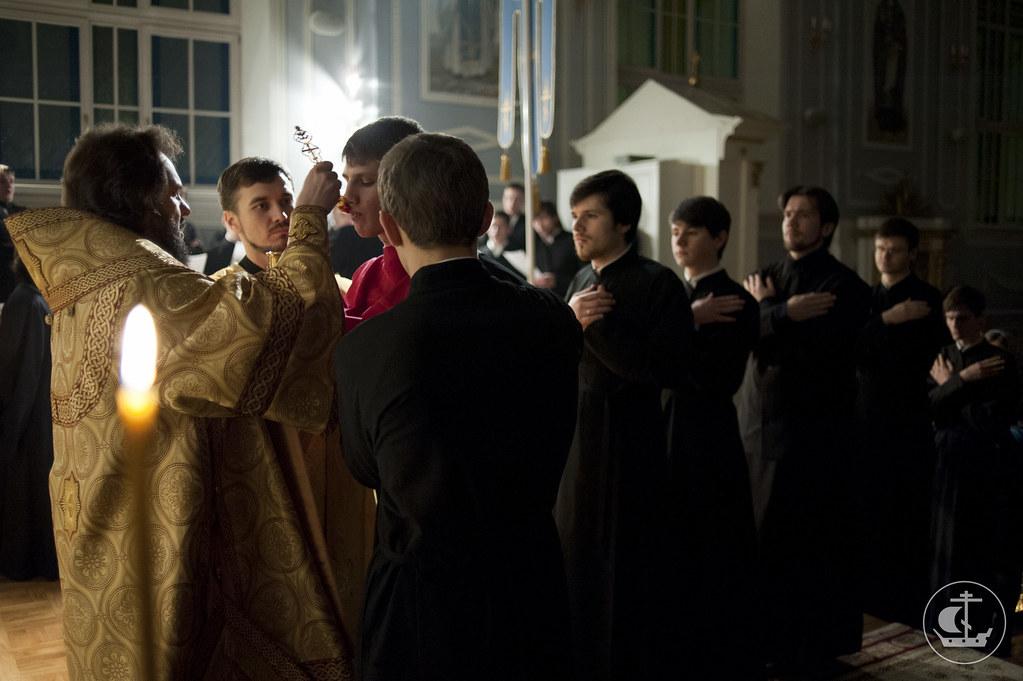 23 декабря 2012, Богослужение в неделю 29-ю по Пятидесятнице