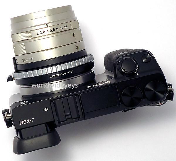 ソニー NEX-7, カールツァイス プラナー 45mm F2 T*