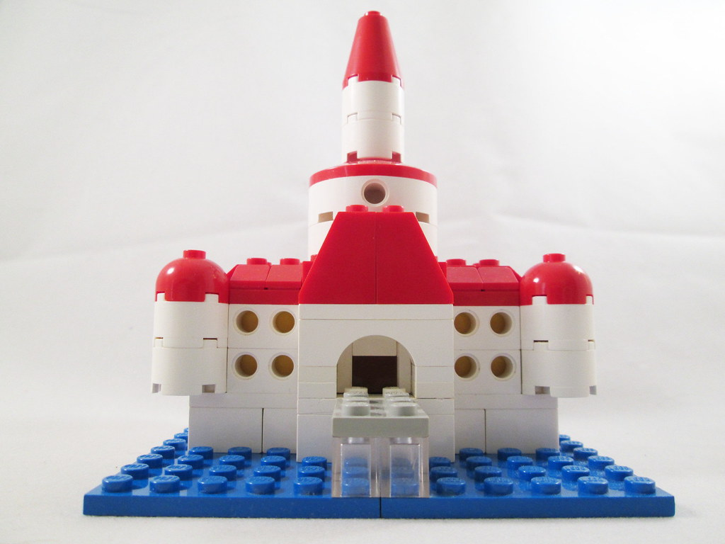 Princess Peach S Castle Super Mario 64 Microscale Model