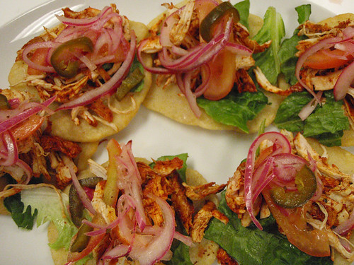 Salbutes: little bocadillas (nibbles) to tempt the mouth