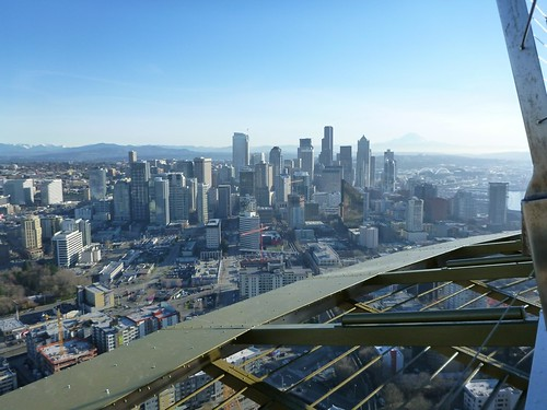 Seattle Skyline from the Space Needle | by apollolee