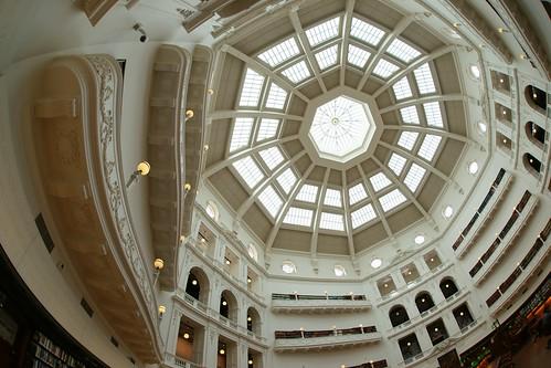 La Trobe Reading Room great dome, Melbourne | by Joe Lewit
