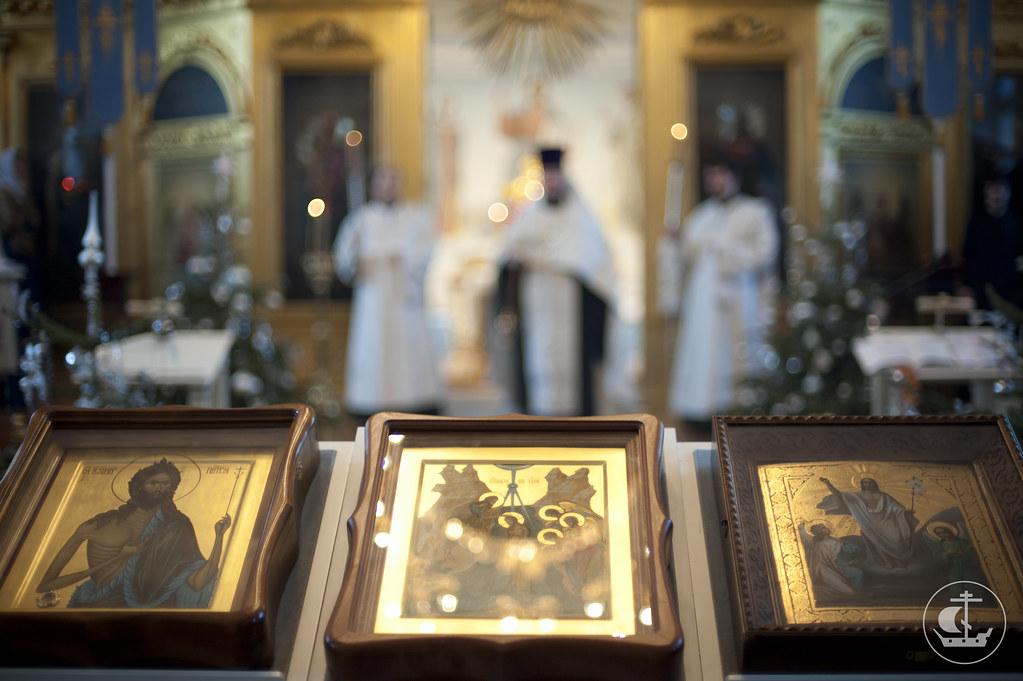 19-20 января 2013, Неделя 33-я по Пятидесятнице, по Богоявлении. Собор Предтечи и Крестителя Господня Иоанна
