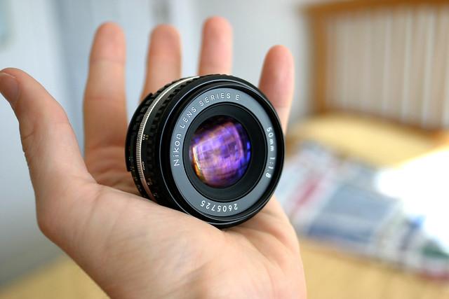 2. Nikon 50mm f/1.8 Series E
