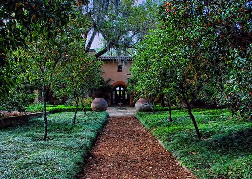 architecture florida landscaping pinewood polkcounty boktower elretiro lakewales mediterraneanrevival