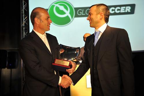 Jorge Mendes and Umberto gandini