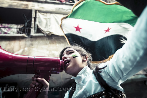 Children chanting Syrian freedom songs. Aleppo. | by FreedomHouse
