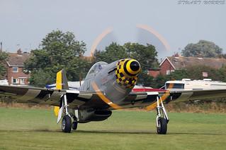 North American P-51D Mustang Janie - Hardwick Warbirds   by stu norris