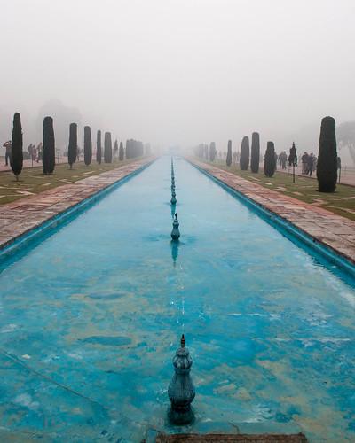 Foggy Taj | by Tanya R.