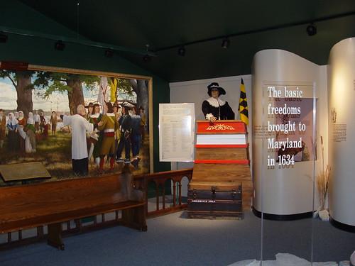 St. Clement's Island Museum exhibit, Colton's Point