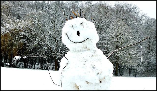 A Snowman Called Spike