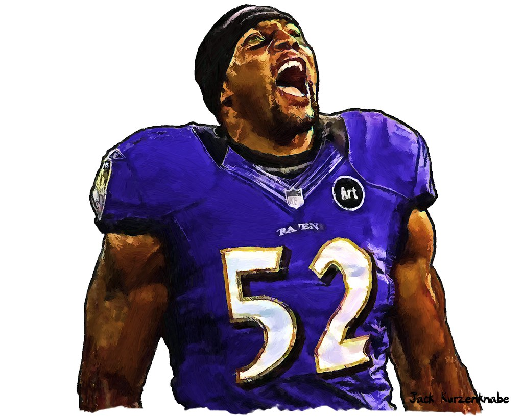 0 Baltimore Ravens Ray Lewis   View all my NFL drawings by t