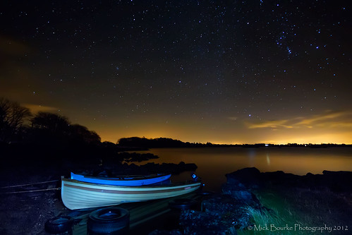 longexposure trees sky lake galway night stars landscape boats nightscape nightshot cogalway serene nightsky manual sigma1020 manualexposure loughcorrib canon60d ballycurrinlighthouse mickbourke ballycurrin