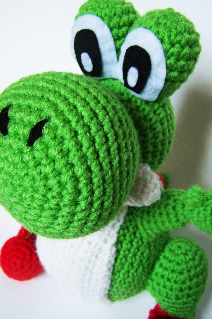 Kids toys PATTERN Yoshi Amigurumi Crochet Plush PDF RNAAJDDVMP | 1024x683