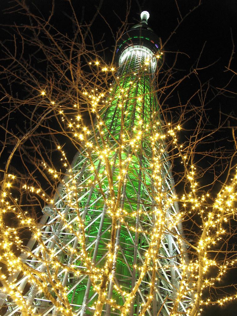 Tokyo Sky Tree & illumination