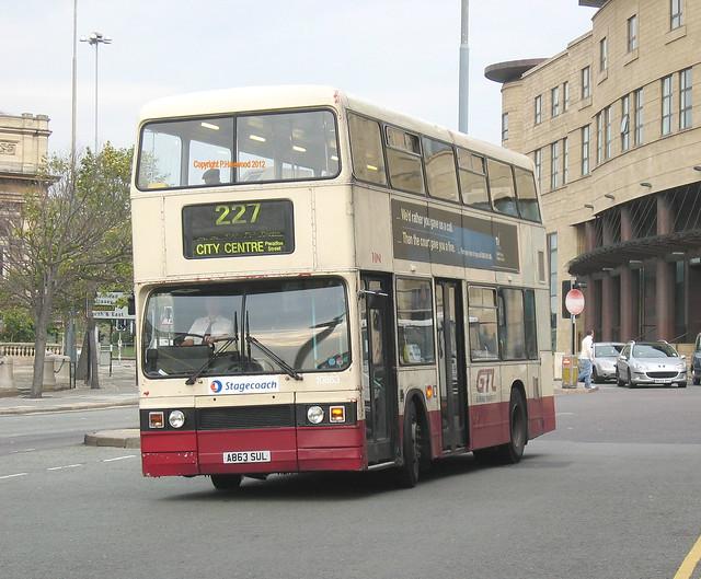 Stagecoach Merseyside 10863 (A863SUL)
