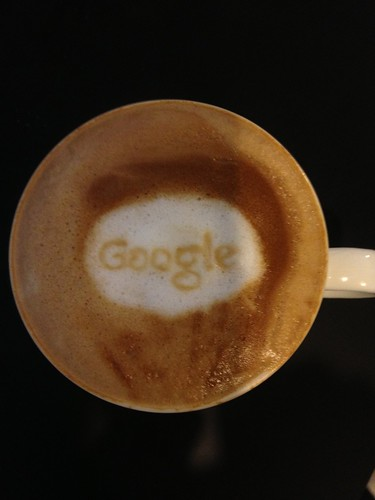 Today's latte, Google. | by yukop