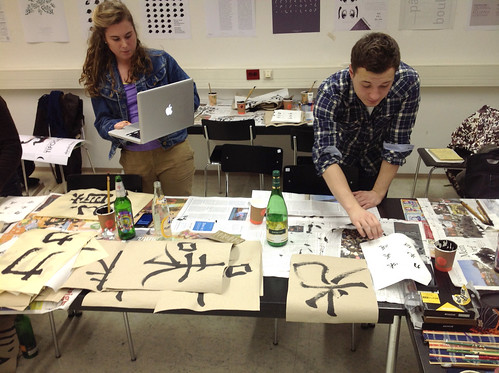 Calligraphy workshop, Jan 2013 | by Just Another Foundry